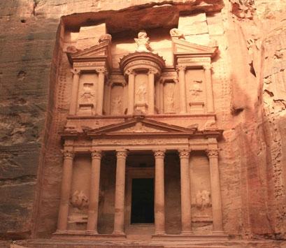 Tomba del Tresor a Petra (Jordània)