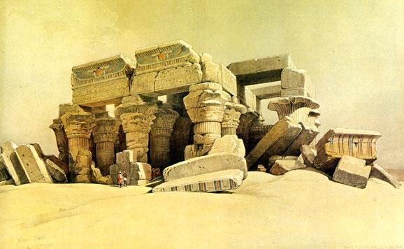 Templo de los dioses Sobek y Haroeris en Kom Ombo (Egipto)