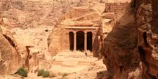 Triclinio del Jardín en Petra