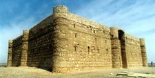 Qasr al-Jarrana, castillo del desierto en Jordania